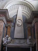 Francesco Maria Mancini, Grabmal S. Maria in Aracoeli, Obelisk